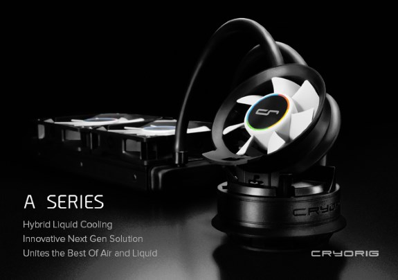 Cryorig A series hybrid liquid cooling