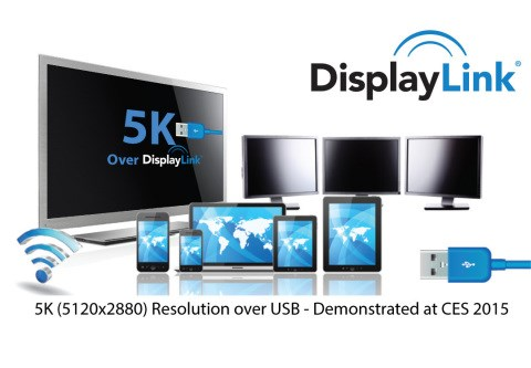 DisplayLink up to 5K screen