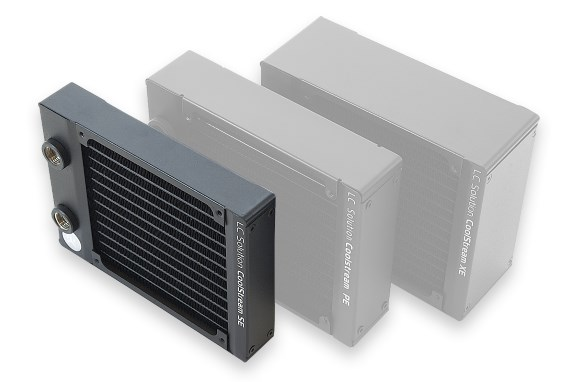 EK ultra-compact 120mm CoolStream SE radiator