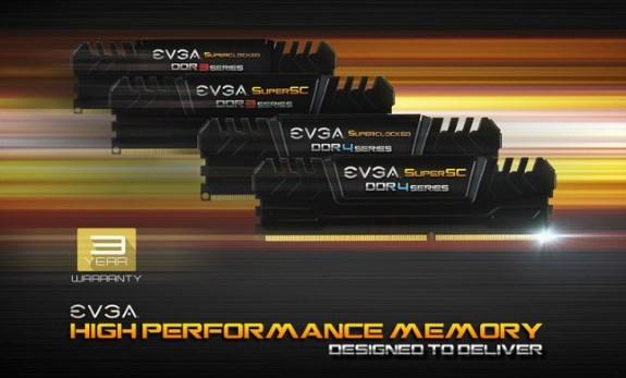 EVGA memory kits