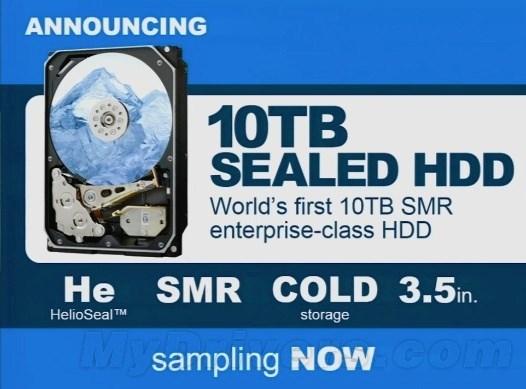 HGST Helium 10TB HDD