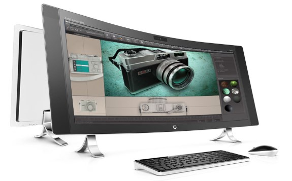 HP curved ENVY 34