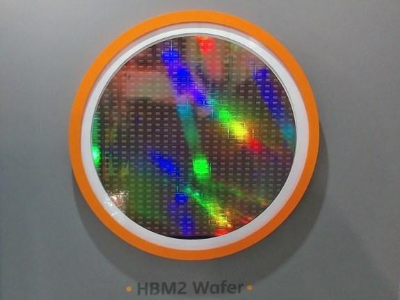HBM2 wafer