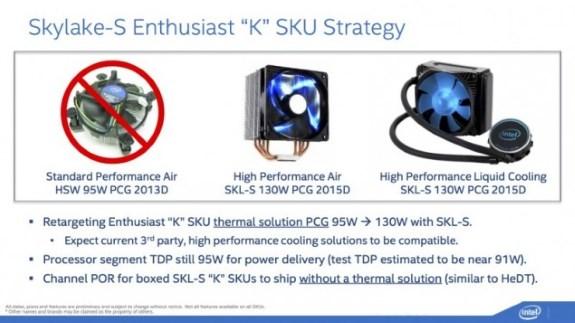 Intel cooling slide for Skylake S