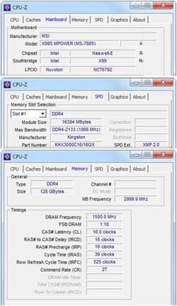 Kingston DDR4 at 3000MHz