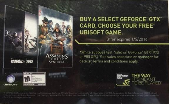 new NVIDIA game bundle