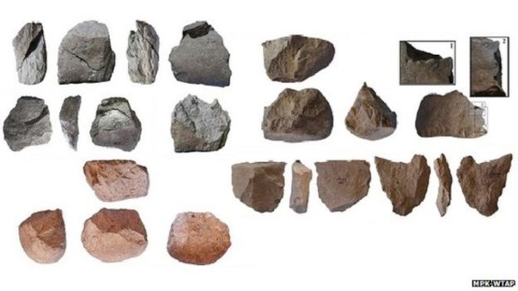 Oldest known stone tools
