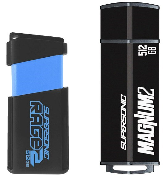 Second Generation of Supersonic Magnum and Rage USB Flash Drives