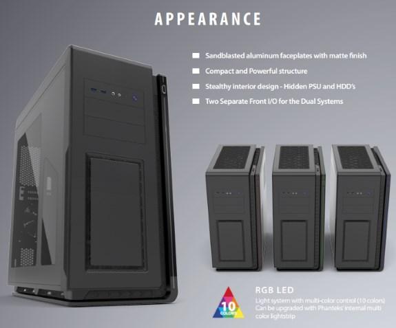 Phanteks Mini XL Dual System