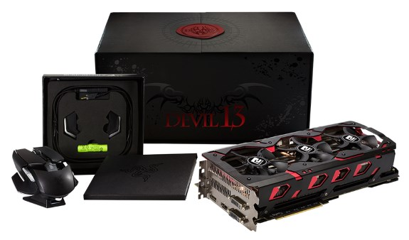 PowerColor Devil 13 Dual Core R9 390 16GB GDDR5