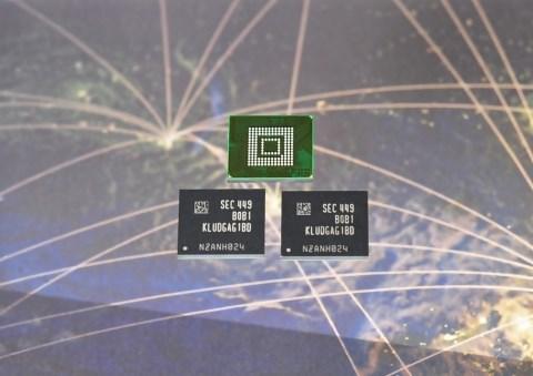 Samsung 128GB phone storage