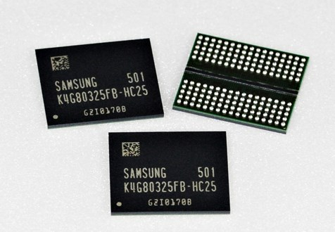 Samsung 8Gb GDDR5 chip