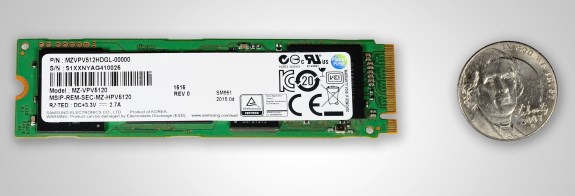 Samsung M.2 NVMe PCIe SSD