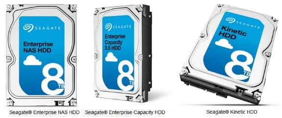 Seagate 8TB lineup
