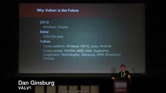 Valve about Vulkan