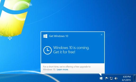 Microsoft Windows 10 update icon