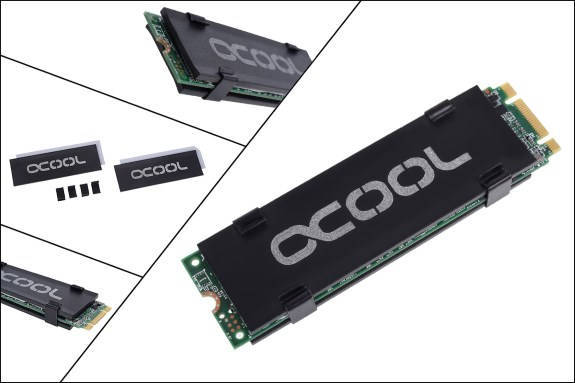 Alphacool M2 SSD cooling