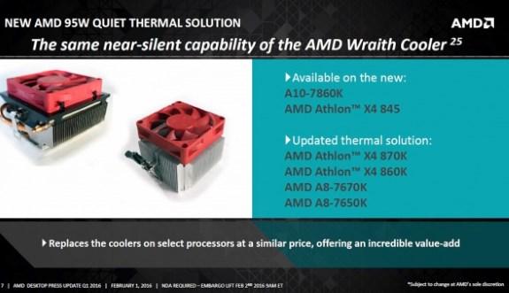 AMD silent 95W TD pcooler