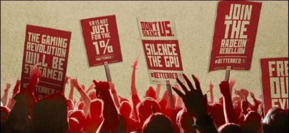 AMD revolt ad