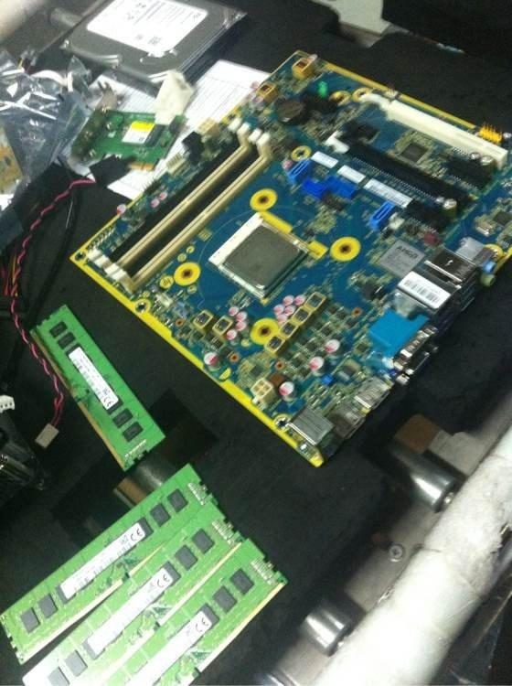 AMD Socket AM4 demo board