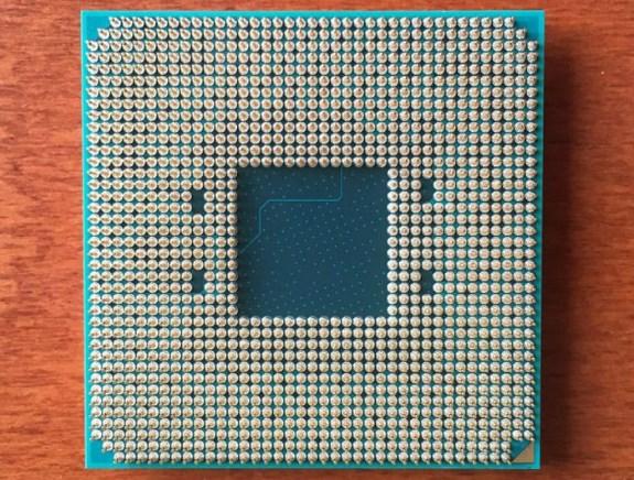 AMD Socket AM4 Bristol Ridge pins