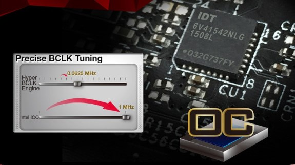 ASRock clock generator chip
