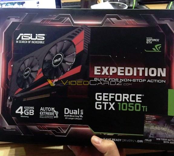 ASUS GTX 1050 Ti