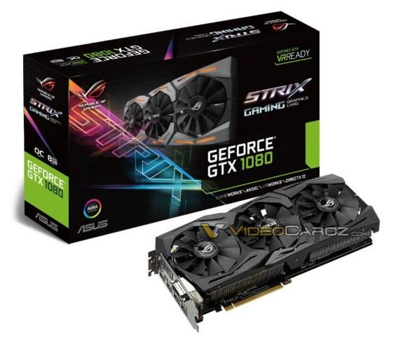 ASUS GTX 1080 STRIX
