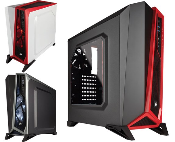 Corsair  Carbide SPEC-ALPHA Mid-Tower ATX Case