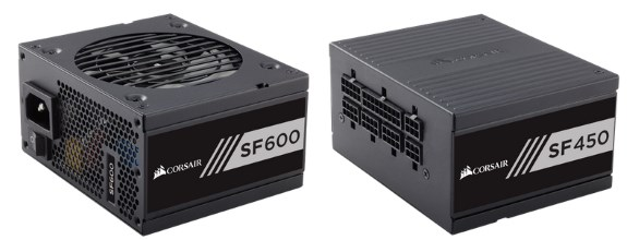 Corsair SFX PSUs SF600 and SF450