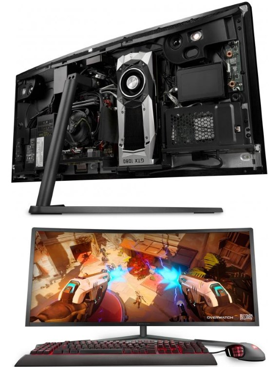 Digital Storm crams Core i7-6950X and GTX 1080 into 34-inch AiO PC