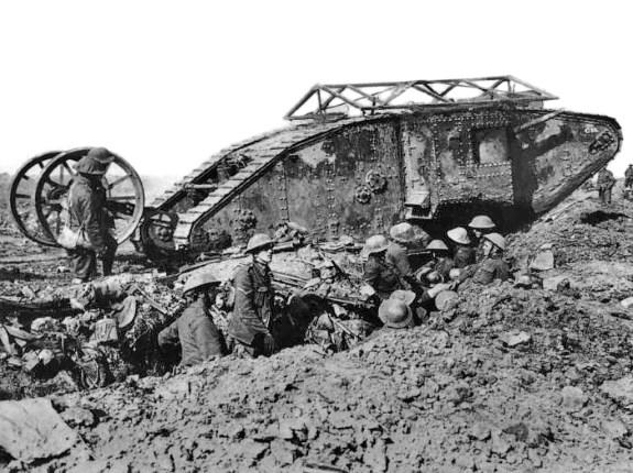 an early tank