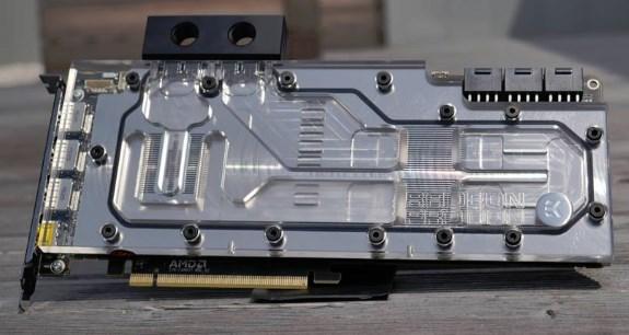 EKWB Radeon Pro Duo waterblock