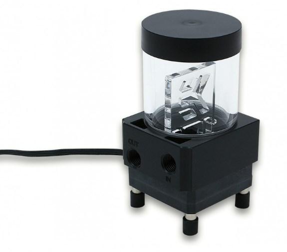 XRES liquid cooling pump reservoir combo