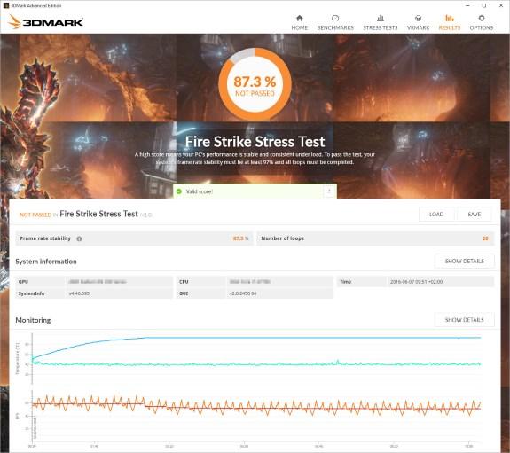 3DMark Stress Tests