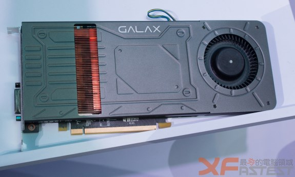 GALAX single slot GTX 1070