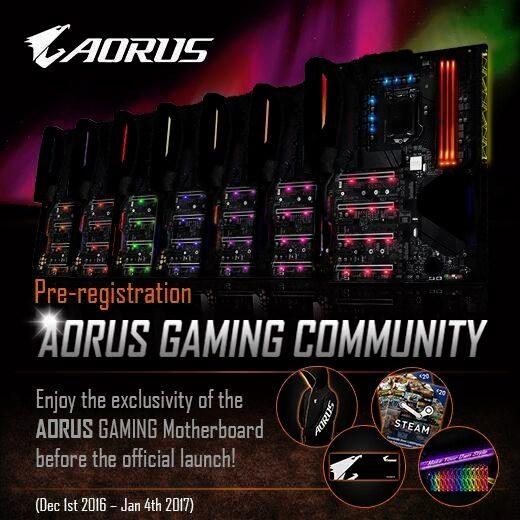 Gigabyte Aorus motherboards