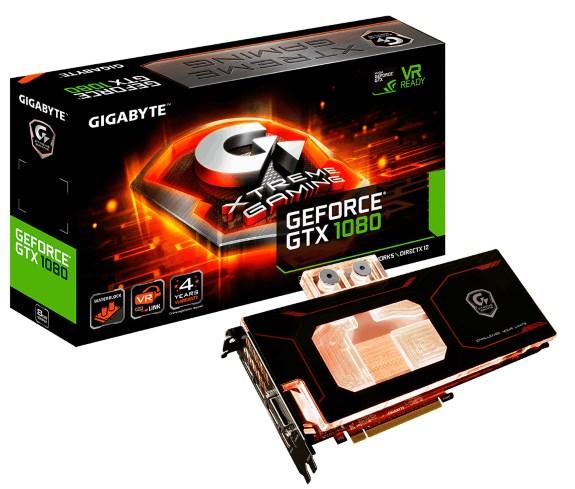 GTX 1080 Xtreme Gaming WATERFORCE WB
