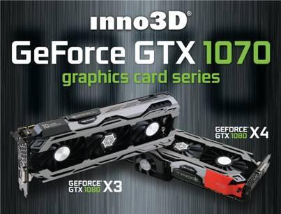 GTX 1070 from Inno3D