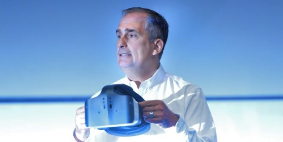 Intel CEO at IDF in SF