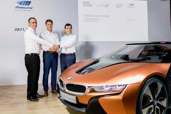 Intel teams up with BMW