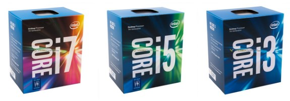 Intel kaby lake boxes logo