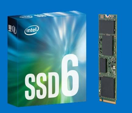 Intel 600p SSDs