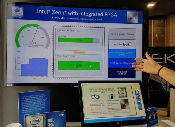 Intel BroadwellEP with FPGA