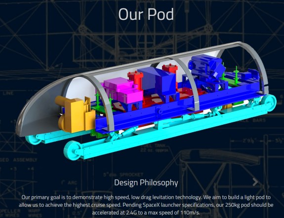 MIT Hyperloop concept