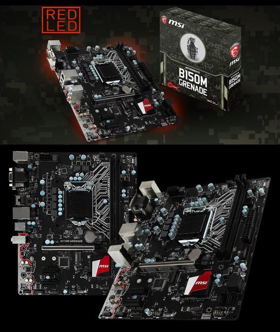 MSI B150M & H110M GRENADE
