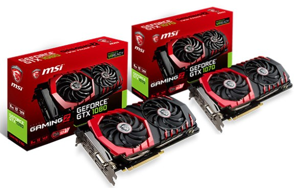 GTX 1070 and 1080 GAMING Z