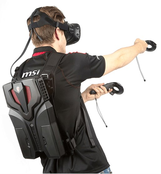 MSI VR backpack PC