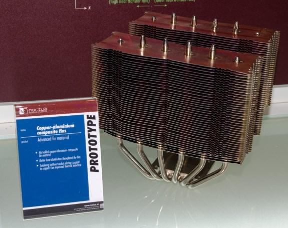Noctua alu copper prototype heatsink