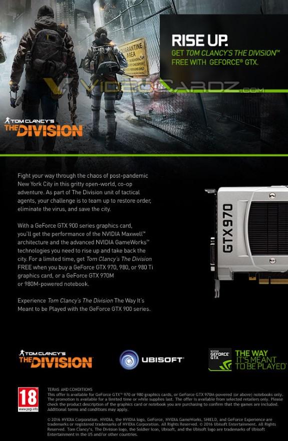 NVIDIA The Division promo